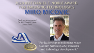 2020 IEEE Noble Award