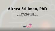 IEEE Brain: the Neurotech Interviews - Althea Stillman