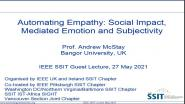 Automating Empathy: Social Impact, Mediated Emotion and Subjectivity