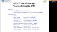 Virtual Strategic Planning Retreat (VSPR) - Day 1 - CIS 2020