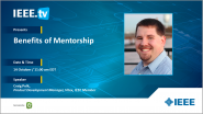 Benefits of Mentorship - An IEEE Collabratec Livestream
