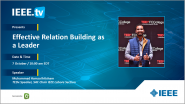 Effective Relation Building As a Leader: A Collabratec Livestream