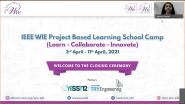 Closing Ceremony | IEEE WIE PBL School Camp