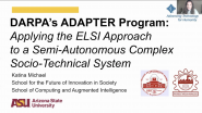 DARPA's ADAPTER Program - Katina Michael - IEEE SSIT 21CW2021