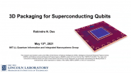 3D Packaging for Superconducting Qubits
