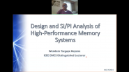Design & SI/PI Analysis of High-Performance Memory Systems