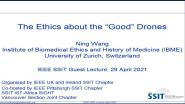 """Ethics about the """"Good"""" Drones"""