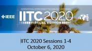 IITC 2020 Sessions 1-4