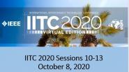 IITC 2020 Sessions 10-13