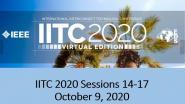 IITC 2020 Sessions 14-17