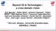 Joint Sessions: Beyond 5G & Technologies: a Cross Domain Vision