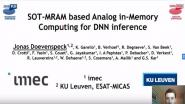Joint Sessions: SOT-MRAM Based Analog in Memory Computing for DNN Interface
