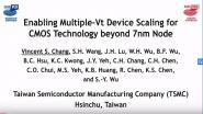 Technology Sessions: Enabling Multiple Vt Device Scaling for CMOS Technology Beyond 7nm Node