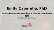 IEEE Brain: the Neurotech Interviews - Emily Caporello