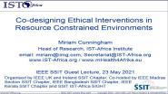 Co-designing Ethical Interventions in Resource Constrained Environments