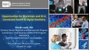 2020 IEEE Healthcare: Blockchain & AI - Kick-off: Overview - Orlando Lopez