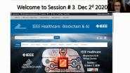 2020 IEEE Healthcare: Blockchain & AI - Medical Devices Standards: Opening Remarks - John Greaves, Gora Datta, Heather Flannery