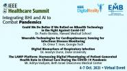IEEE Healthcare Summit 2021: Plenary Speakers - Dr. Paolo Bonato, Dr. Omer Inan, Dr. Jessilyn Dunn, & Mr. Aditya Vaidyam