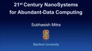 21st-Century Nano System for Abundant Data Computing