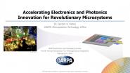 Accelerating Electronics & Photonics Innovation for Revolutionary Microsystems