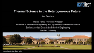 Thermal Sciences for the Heterogeneous Future