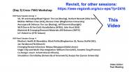 Working Group Meeting 3: 2021 IEEE Heterogeneous Integration Roadmap