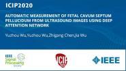 AUTOMATIC MEASUREMENT OF FETAL CAVUM SEPTUM PELLUCIDUM FROM ULTRASOUND IMAGES USING DEEP ATTENTION NETWORK