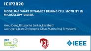 MODELING SHAPE DYNAMICS DURING CELL MOTILITY IN MICROSCOPY VIDEOS
