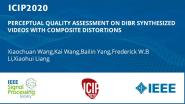 PERCEPTUAL QUALITY ASSESSMENT ON DIBR SYNTHESIZED VIDEOS WITH COMPOSITE DISTORTIONS