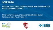 RAILCAR DETECTION, IDENTIFICATION AND TRACKING FOR RAIL YARD MANAGEMENT