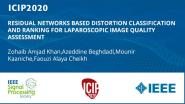 RESIDUAL NETWORKS BASED DISTORTION CLASSIFICATION AND RANKING FOR LAPAROSCOPIC IMAGE QUALITY ASSESSMENT