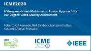 A Viewport-driven Multi-metric Fusion Approach for 360-Degree Video Quality Assessment