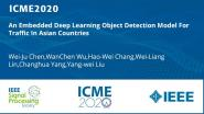 An Embedded Deep Learning Object Detection Model For Traffic In Asian Countries