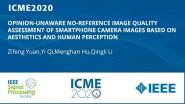 OPINION-UNAWARE NO-REFERENCE IMAGE QUALITY ASSESSMENT OF SMARTPHONE CAMERA IMAGES BASED ON AESTHETICS AND HUMAN PERCEPTION