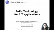 IEEE Melecon 2020 - Tutorial Track 2, Part 1 - Ilenia Tinnirello- LoRa Technology for IoT Applications