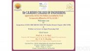 IEEE SIRCRRCOE IEEE SPS SB Chapter Inaugural Ceremony (SBC11558)