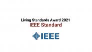 IEEE Standards Winner 2021 Living Standards Awards ASI