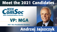 Meet the 2021 ComSoc Candidates: Andrzej Jajszczyk, Candidate for VP of Technical & Educational Activities