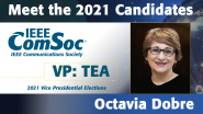 Meet the 2021 ComSoc Candidates: Octavia Dobre, Candidate for VP of Technical & Educational Activities