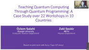 Teaching Quantum Computing Through Quantum Programming: A Case Study over 22 Workshops in 10 Countries