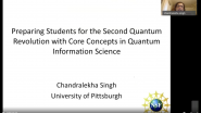 Preparing Students for the Second Quantum Revolution with Core Concepts in Quantum Information