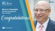 IEEE-HKN Distinguished Service Award - Bruce A. Eisenstein - 2020 EAB Awards