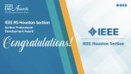 Section Professional Development Award - Region 5 Houston Section - 2020 EAB Awards