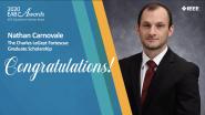 Charles LeGeyt Fortesque Scholarship - Nathan Carnovale - 2020 EAB Awards