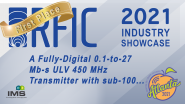 Guillaume Tochou - RFIC Industry Showcase - IMS 2021