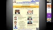 Inauguration of HKES-SLN College Of Engineering IEEE Student Branch & ITS