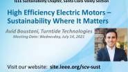 High Efficiency Electric Motors – Sustainability Where It Matters