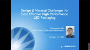Design & Materials Challenges For Cost-Effective High-Performance LEDs
