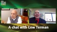 Lew Terman with Glenn Zorpette - VICS Honors 2021