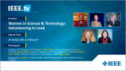 Women in Science and Technology: Volunteering to Lead